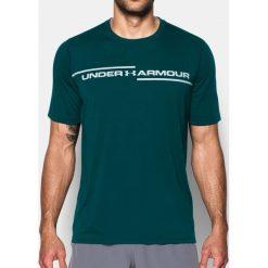 Under Armour Koszulka męska Threadborne Cross Chest SS Zielona r. S (1299158-919). Szare koszulki sportowe męskie marki Under Armour, l, z elastanu. Za 109,45 zł.