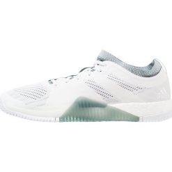 Adidas Performance CRAZYTRAIN ELITE Obuwie treningowe footwear white/raw green. Białe buty skate męskie adidas Performance, z gumy. Za 599,00 zł.
