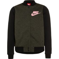 Nike Performance TECH FLEECE  Bluza rozpinana legion green/heather/max orange. Brązowe bluzy dziewczęce rozpinane marki Nike Performance, z bawełny. W wyprzedaży za 265,30 zł.