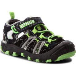Sandały PRIMIGI - 1457922 Nero. Czarne sandały męskie skórzane marki Primigi. W wyprzedaży za 169,00 zł.