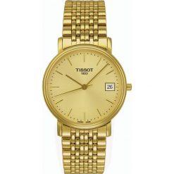 PROMOCJA ZEGAREK TISSOT T-CLASSIC T52.5.481.21. Żółte zegarki męskie TISSOT, pozłacane. W wyprzedaży za 1051,59 zł.