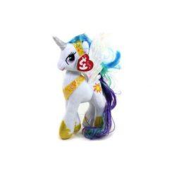 Maskotka TY INC My Little Pony Księżniczka Celestia. Szare przytulanki i maskotki marki TY INC, z materiału. Za 29,99 zł.