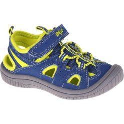 Sandały chłopięce: BEJO Sandały Dziecięce Silma Kids Lake Blue/Lime r. 26