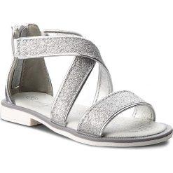 Sandały dziewczęce: Sandały NELLI BLU – CS17087 Srebrny