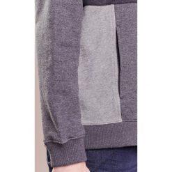 Bejsbolówki męskie: Folk PANEL HOODIE Bluza z kapturem greys