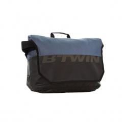 Torba Office 900 B'twin. Niebieskie torebki klasyczne damskie B'TWIN, z materiału. Za 119,99 zł.