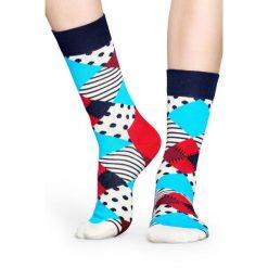 Happy Socks - Skarpety Multi. Szare skarpetki męskie Happy Socks, z bawełny. W wyprzedaży za 27,90 zł.