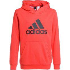 Adidas Performance LOGO HOOD Bluza z kapturem hirere/black. Czerwone bluzy chłopięce rozpinane marki adidas Performance, m. Za 169,00 zł.