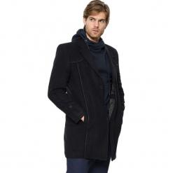 Płaszcz w kolorze granatowym. Niebieskie płaszcze zimowe męskie marki AVVA, Dewberry, m. Za 449,95 zł.