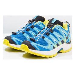 Salomon Obuwie do biegania Szlak indigo bunting/white/sulphur spring. Niebieskie buty skate męskie marki Salomon, z gumy, do biegania. Za 279,00 zł.