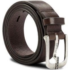 Pasek Męski JOOP! - JEANS 7622 100 D'Brown A02. Brązowe paski męskie marki JOOP!, w paski, z jeansu. W wyprzedaży za 249,00 zł.