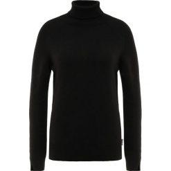Barbour PENDLE COLLAR Sweter black. Czarne swetry klasyczne damskie Barbour, z kaszmiru. Za 499,00 zł.