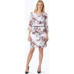 S.Oliver Black Label - Sukienka damska, beżowy. Brązowe sukienki hiszpanki s.Oliver BLACK LABEL, na lato, s, w kwiaty. Za 459,95 zł.