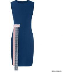 Klasyczna sukienka z frędzlami. Czarne sukienki balowe marki Reserved. Za 369,00 zł.