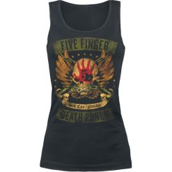 Topy damskie: Five Finger Death Punch Locked & Loaded Top damski czarny