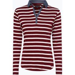 Franco Callegari - Damska koszulka z długim rękawem, czerwony. Zielone t-shirty damskie marki Franco Callegari, z napisami. Za 49,95 zł.
