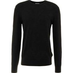 Emporio Armani Sweter nero. Czarne swetry klasyczne męskie Emporio Armani, m, z materiału. Za 669,00 zł.