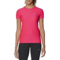Bluzki asymetryczne: Asics Koszulka SS Top różowa r. S (134104 0688)