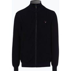 Gant - Kardigan męski, niebieski. Niebieskie swetry rozpinane męskie marki GANT, m, z bawełny. Za 649,95 zł.