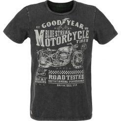 T-shirty męskie z nadrukiem: GoodYear Shelburne T-Shirt czarny