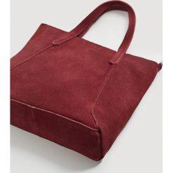 Shopper bag damskie: Mango - Torebka skórzana Julia
