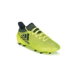Buty do piłki nożnej adidas  X 17.1 FG. Żółte halówki męskie Adidas, do piłki nożnej. Za 678,30 zł.