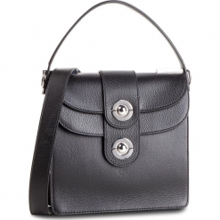 Torebka COCCINELLE - D05 Leila E1 D05 15 01 01  Noir 001. Czarne torebki klasyczne damskie marki Coccinelle, ze skóry. Za 1649,90 zł.