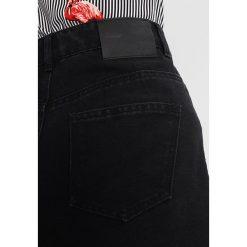 Minispódniczki: Noisy May NMSUNNY CUTLINE SKIRT  Spódnica trapezowa black