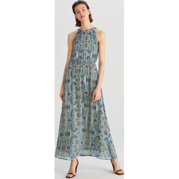 db282ef8 Długa sukienka - Wielobarwn