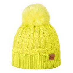 Czapka damska Iliana żółta (212/20/4859). Żółte czapki zimowe damskie marki Viking. Za 61,19 zł.
