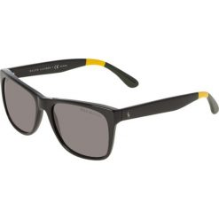 Polo Ralph Lauren Okulary przeciwsłoneczne black. Czarne okulary przeciwsłoneczne męskie aviatory Polo Ralph Lauren. Za 569,00 zł.