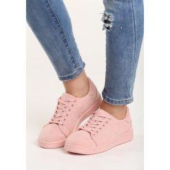 Różowe Buty Sportowe Innovative. Czerwone buty sportowe damskie Born2be, z materiału. Za 49,99 zł.