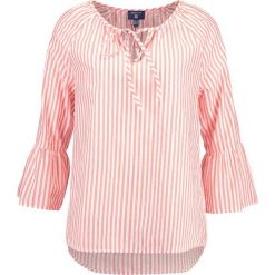 Bluzki damskie: GANT STRIPED RUFFLED SLEEVE Bluzka strong coral