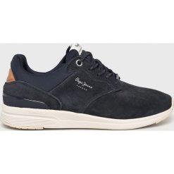 Pepe Jeans - Buty Jayker Dual. Szare buty skate męskie Pepe Jeans, z jeansu, na sznurówki. W wyprzedaży za 319,90 zł.