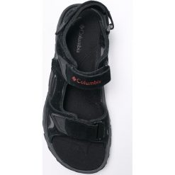Columbia - Sandały. Czarne sandały męskie skórzane Columbia. W wyprzedaży za 229,90 zł.