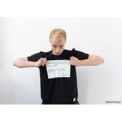 T-shirt z cytatem, J. Joyce, Ulisses. Czarne t-shirty męskie z nadrukiem marki Pakamera, m, z kapturem. Za 79,00 zł.