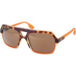 """Okulary przeciwsłoneczne męskie aviatory: Okulary przeciwsłoneczne """"0046/S G1H/1L"""" w kolorze pomarańczowym"""