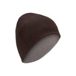 Czapka narciarska REVERSE. Czerwone czapki damskie marki WED'ZE, na zimę, z dzianiny. Za 11,99 zł.