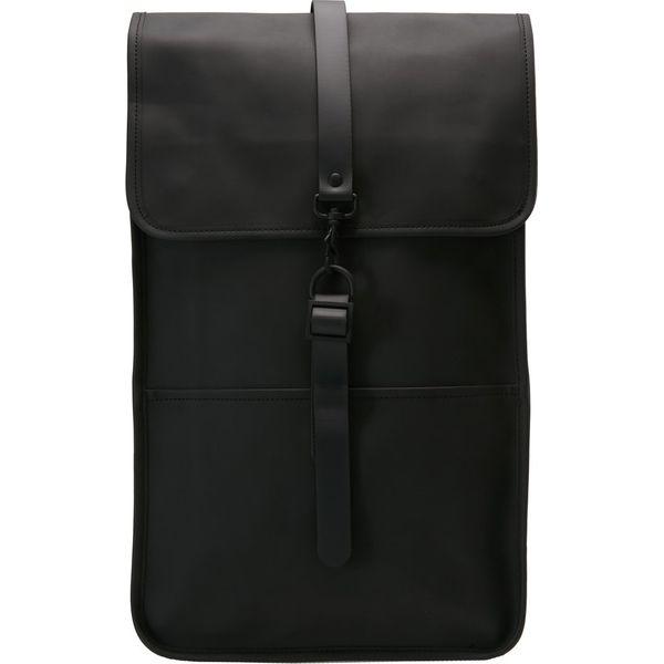 9eb1c8ee48ee8 Rains BACKPACK Plecak black - Czarne plecaki męskie marki Rains. Za ...