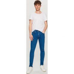 Rurki męskie: Jeansy super skinny fit - Niebieski