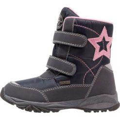 Fullstop. Śniegowce navy/pink. Szare buty zimowe damskie marki fullstop., z materiału. W wyprzedaży za 135,20 zł.
