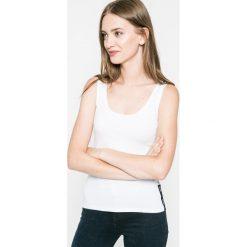 Guess Jeans - Koszulka piżamowa. Szare koszule nocne i halki marki Guess Jeans, s, z aplikacjami, z bawełny, z okrągłym kołnierzem. W wyprzedaży za 39,90 zł.