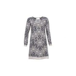 Sukienki krótkie Cream  BARBRA. Szare sukienki mini marki Cream, z krótkim rękawem. Za 351,20 zł.