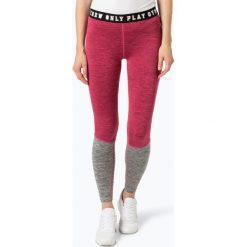 Spodnie damskie: Only Play - Sportowe legginsy damskie, biały