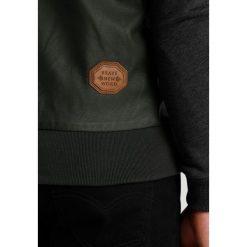 Naketano Kurtka ze skóry ekologicznej dark olive. Czarne kurtki męskie skórzane marki Reserved, l. Za 459,00 zł.