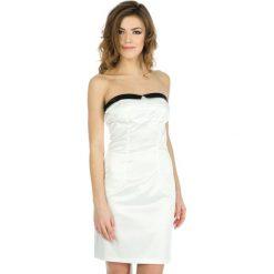 Odzież damska: Sukienka Naf Naf w kolorze białym