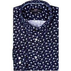 Koszula SIMONE KDWS000209. Niebieskie koszule męskie na spinki Giacomo Conti, m, z klasycznym kołnierzykiem. Za 199,00 zł.