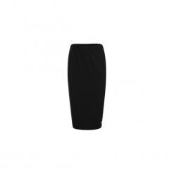 CZARNA SPÓDNICA OŁÓWKOWA BASIC. Czarne spódnice wieczorowe Bien fashion, xxl, z gumy, midi, dopasowane. Za 69,00 zł.