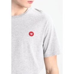 Koszulki polo: Wood Wood ACE Tshirt basic grey melange