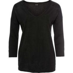 Swetry oversize damskie: Sweter bonprix czarny